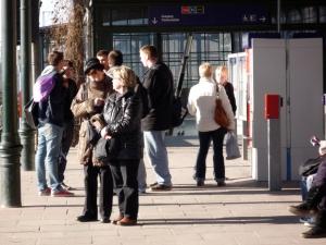 Die nächste S-Bahn kommt bestimmt