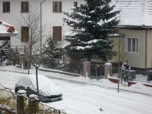 Vorm Fenster – der Winter