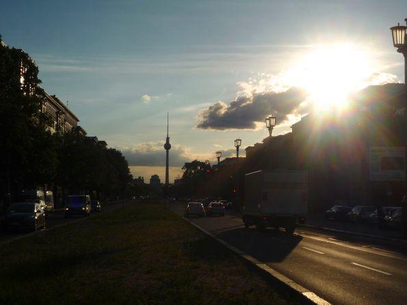 Die Welt im Abend- und Gegenlicht