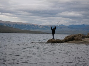 So geht Fliegenfischen in Chile
