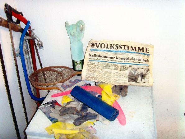 War das ein Segen oder ein Sägen – und immer die passenden Handschuhe dazu © Foto und Text: Christian Brachwitz