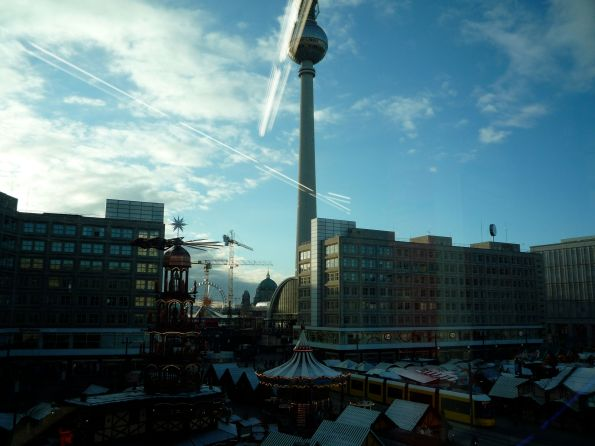 Oben Sonne, unten Finsternis. Berlin Alexanderplatz