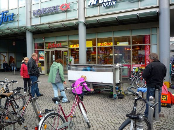 Mobile Fahrradwaschanlagen sind immer noch ein Glücksspiel ein Deutschland