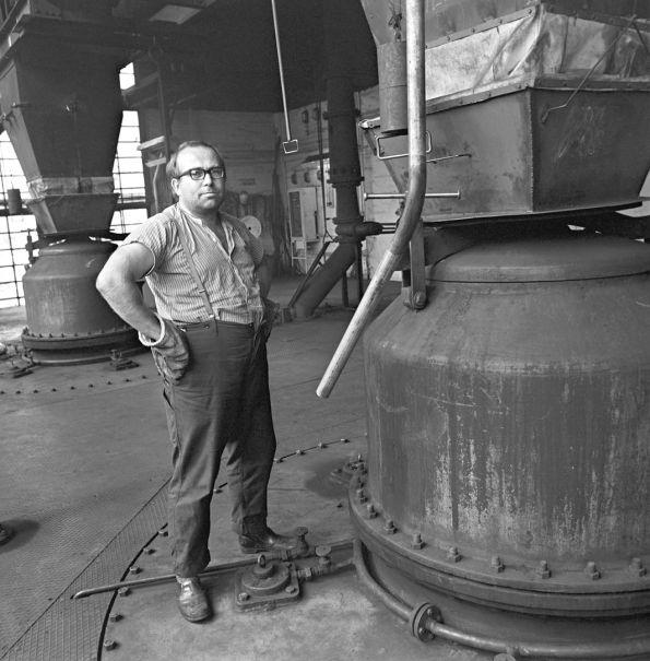 Im Kraftwerk,Buna Schkopau 1978. Dreck drinnen, Dreck draußen. © Christian Brachwitz