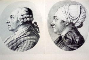 Der Vater war bei Goethes Geburt 39 Jahre alt, die Mutter 18