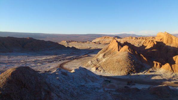 Ab durch die Wüste. Sieht weniger trostlos aus, als man denkt