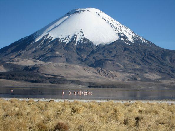 Auch so kann ein Vulkan aussehen – der Parinacota in Chile