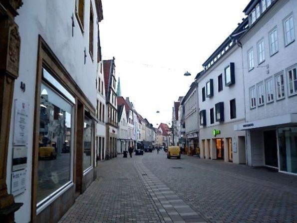 Bielefeld Altstadt. Abends ist mehr los