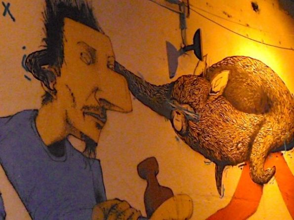Alles, was ins Auge geht. Street Art Berlin Mitte