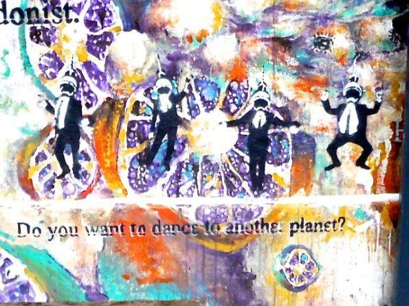 Ob das Wünschen noch hilft? Street Art in Berlin Mitte Rosenthaler Staße