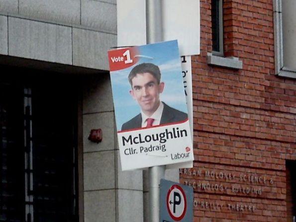 McLoughlin vorm Belvedere College, wo James Joyce studierte Fotos © Fritz-Jochen Kopka