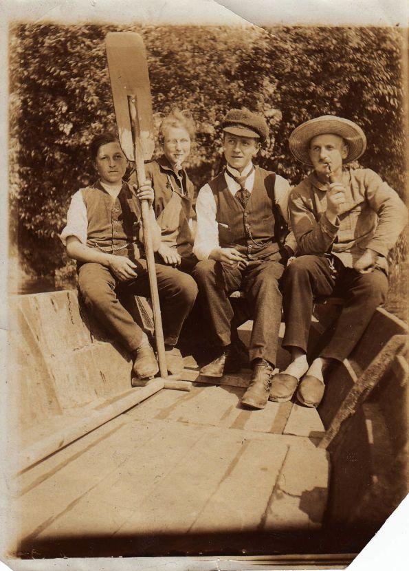 Der Mann aus der anderen Zeit Foto: Archiv Brachwitz