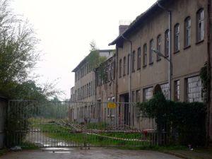 Alte kaputte Fabrik