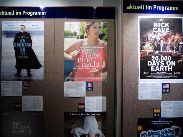 Es ist der Film in der Mitte. Berlin, Kino in den Hackeschen Höfen