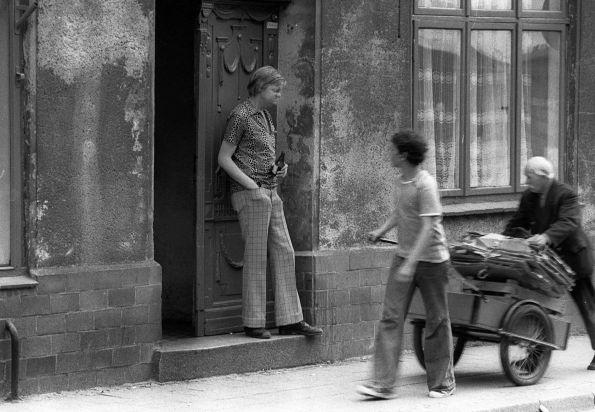 Zwei Welten in Wismar 1979 © Christian Brachwitz