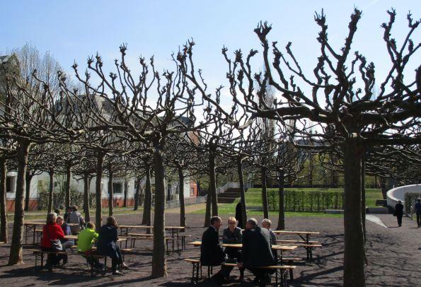 Bäume im Museumsgarten – auch eine Ensembleleistung  © Fotos: Fritz-Jochen Kopka