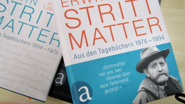 """""""Nachrichten aus meinem Leben"""" und """"Der Zustand meiner Welt"""", Erwin Strittmatters Tagebücher"""