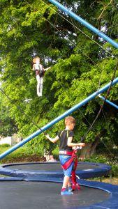 Und in den Bäumen schwebten glückliche Kinder