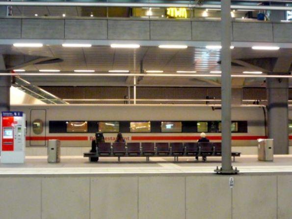 Ausgangspunkt des Abenteuers: Berlin Hauptbahnhof