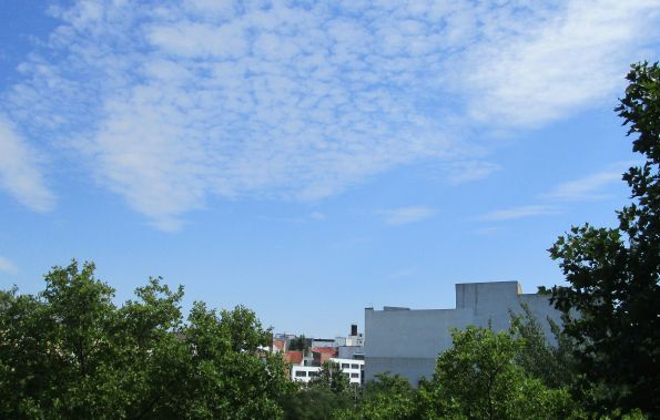 Der Himmel der Daheimgebliebenen. Berlin Kreuzberg