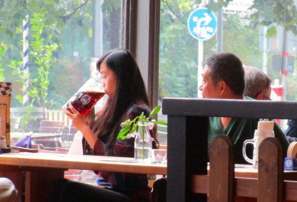 In Japan denken sie, hier trinken alle so