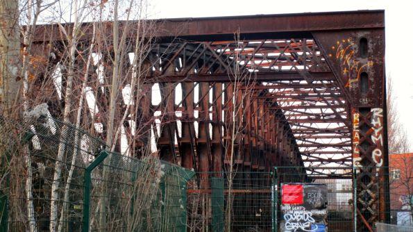 Liesenbrücke stillgelegt