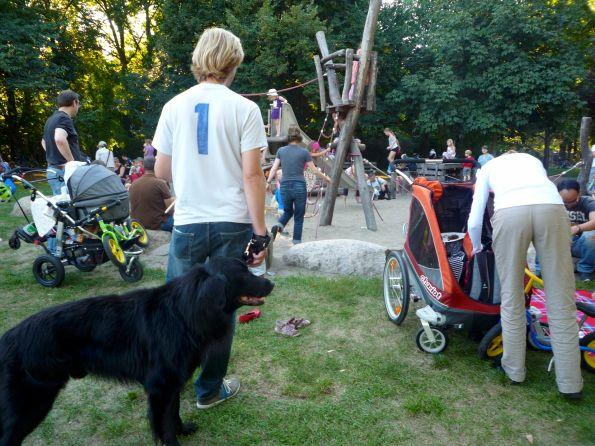 Die Integration der Hunde haben wir geschafft. Wobei der Anteil der Hunde dabei nicht gering einzuschätzen ist.