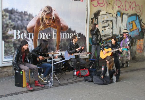 Mach mal Pause, Tambourineman © Fritz-Jochen Kopka