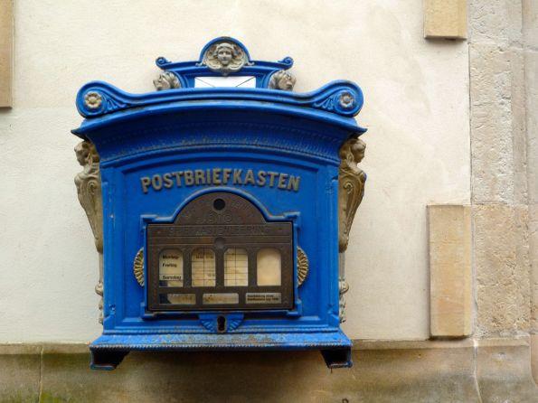 Aktiver Briefkasten in Güstrow/Meckl. Nächste Leerung ungewiss