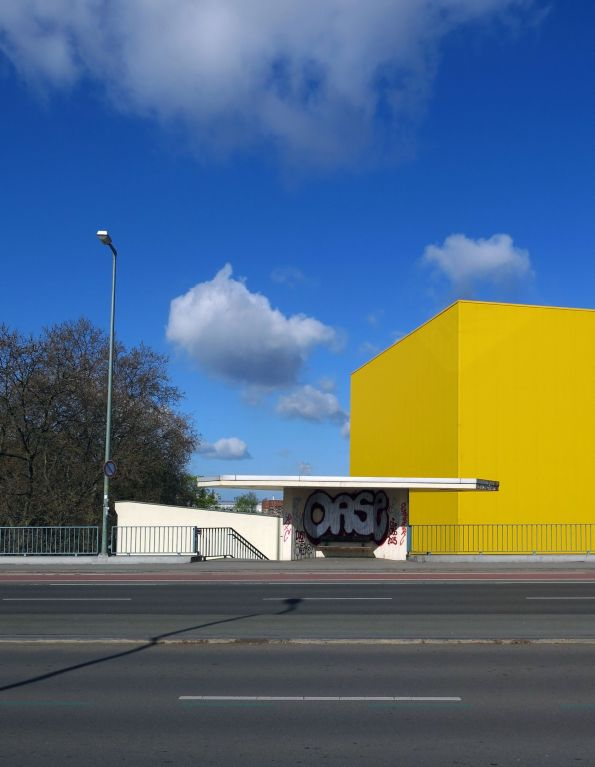 Berliner Farben an einem unberlinischen Ort © Christian Brachwitz