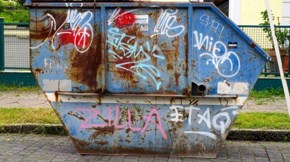 Was ich (der Container) noch zu sagen hätte © Fritz-Jochen Kopka