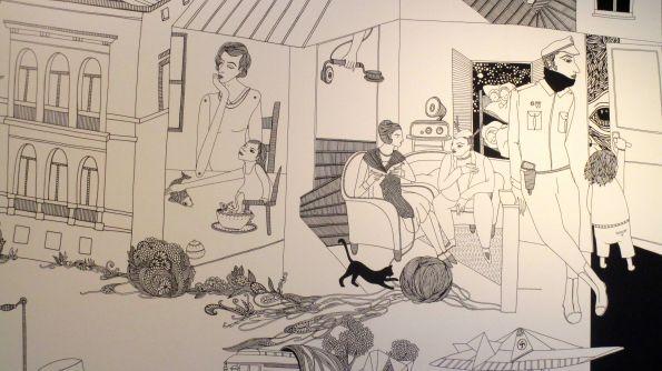 Geschichte des Hauses als Graphic Novel von Laleh Torabi